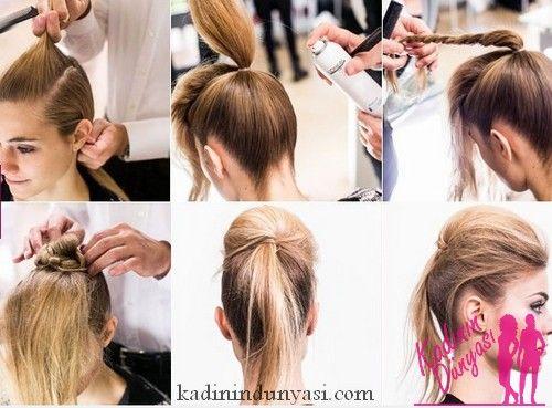 Как сделать причёску на средние тонкие волосы