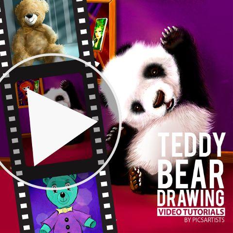 Teddy Bear time-lapse video
