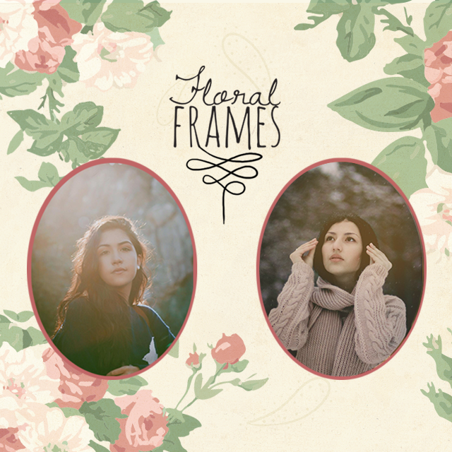 floral frames package