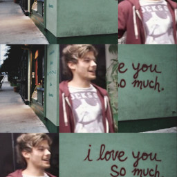 edits louis tomlinson tumblr collage one direction