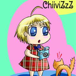 drawing anime cute
