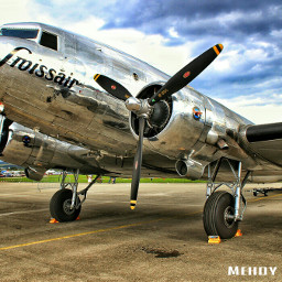 colorful old photo photography aircraft popart