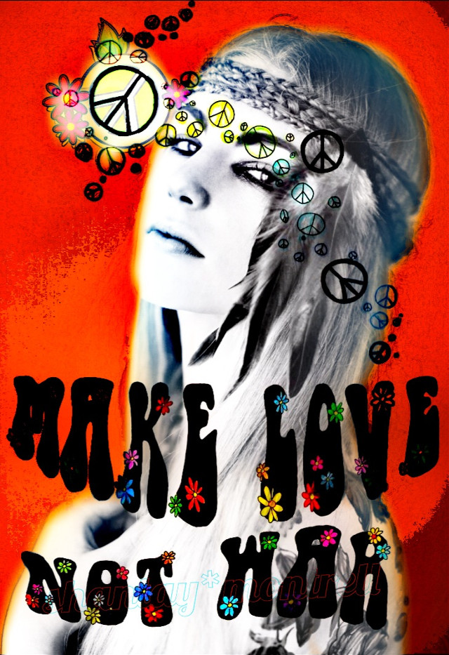 no.2 entry #GDworldpeaceday my creation poster design  'Make Love Not War'   #art #photography #emotions #gdworldpeaceday #magazine