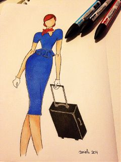 uniform people cabincrew dress travel