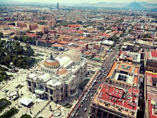 mexico df city art palacio