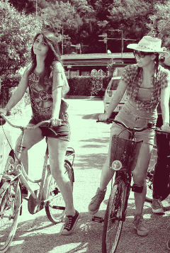 bike friendship beautiful spring photooftheday