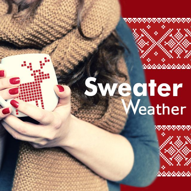 sweater weather clipart package