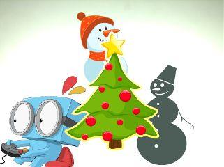 christmas merrychristmas snowman season snowy