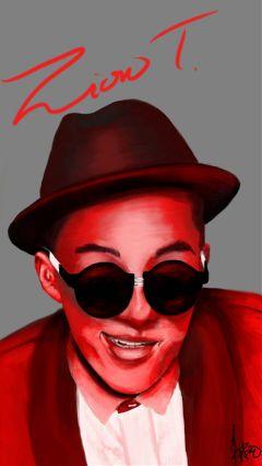 art drawing people love kpop