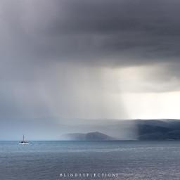 canon nature rain sea summer