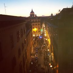 roma rome luci la