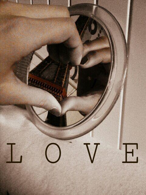 love postcard graphic design