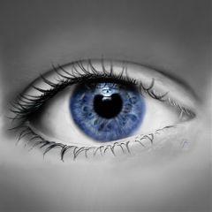 drawing digitaldrawing eye blueeyes reflection